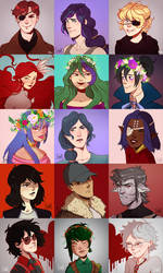 Icon commissions part 1 by DJune-y