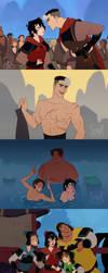 Voltron Mulan au by DJune-y