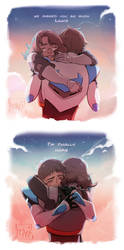 Welcome home (Lance and Veronica) by DJune-y