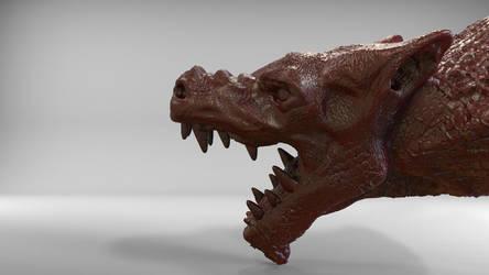 Dragon Head by uros97