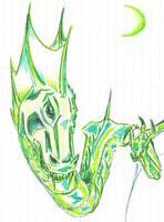 Green Dragon by CyberII