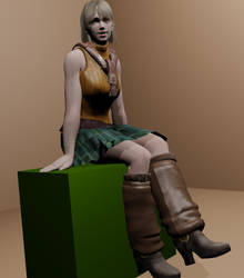 Ashley Graham by AudiBlackbird