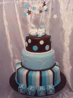 Christening Cake by Verusca