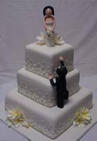 Frangipanes Wedding Cake by Verusca