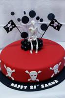 Pirate Cake by Verusca