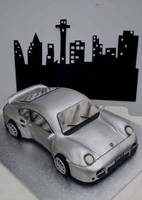 Porsche Cake by Verusca