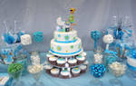 Baby shower candy bar by Verusca