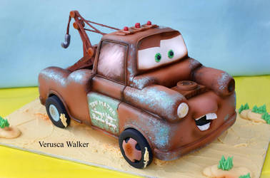 Tow Mater 3D Cake by Verusca
