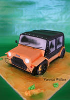 Mini Moke 3D car by Verusca
