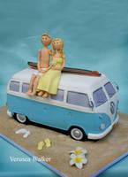 Kombi Van Wedding by Verusca