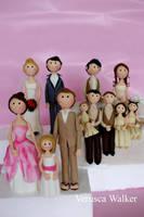 Family Figurine by Verusca