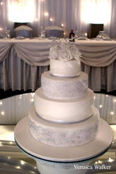 4 tiers cake wedding cake by Verusca