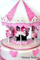 Carousel Cake by Verusca