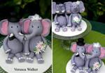 Elephant Figurines by Verusca