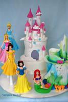 Princess Cake Theme by Verusca