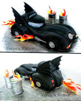 Dark Knight  3D Cake by Verusca