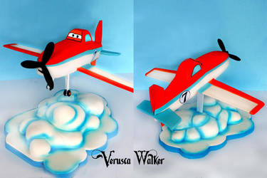3D Airplane by Verusca