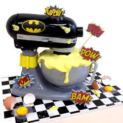 Batman KitchenAid by Verusca