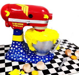 Wonder Woman KitchenAid by Verusca