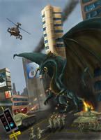 Dragon Hunt by Netarliargus