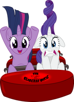 Twilight and Rarity by BlackGryph0n