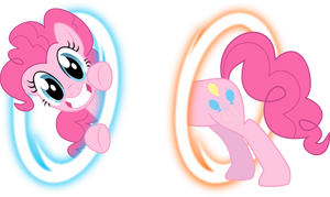 Pinkie Portal by BlackGryph0n