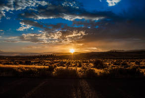 Nevada Sunset HDR by buitseach