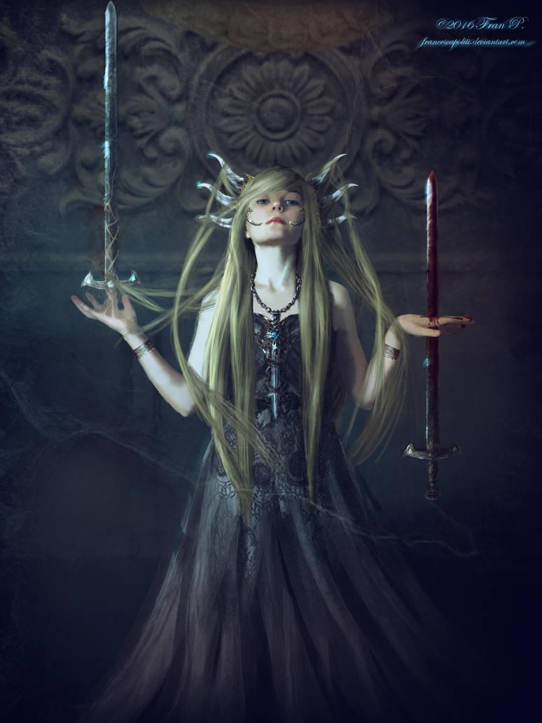 Queen Of Swords by FrancescaPoliti