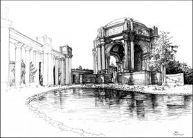 Palace of Fine Arts by JakubKrolikowskiART