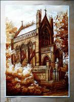 The Dexter Mausoleum by JakubKrolikowskiART