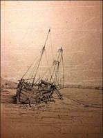 #14 shipwreck  by JakubKrolikowskiART