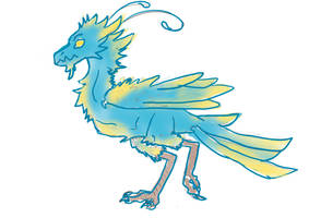 Birdy dragon by 1girlfriend
