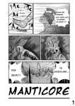 Manticore page 1 by 1girlfriend