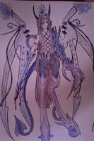 Purple dark dragon by 1girlfriend
