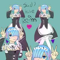 Rem by 1girlfriend