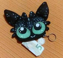 toothless tiny purse by 1girlfriend