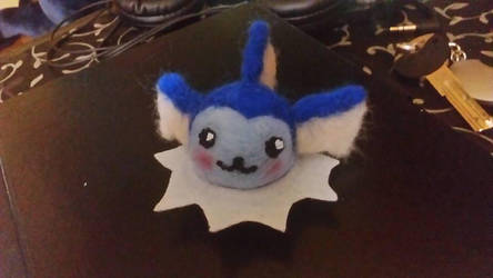 needle felted vaporeon by 1girlfriend