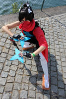 Greninja cosplay (shiny) by 1girlfriend