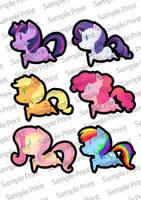 mlp stickers by 1girlfriend