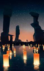 Lanterns by GANJAKYUN
