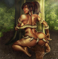 Nidalee - Once Upon a Time by Firdausiyus