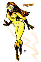 Firestar - X-Men Hero by rcmarz