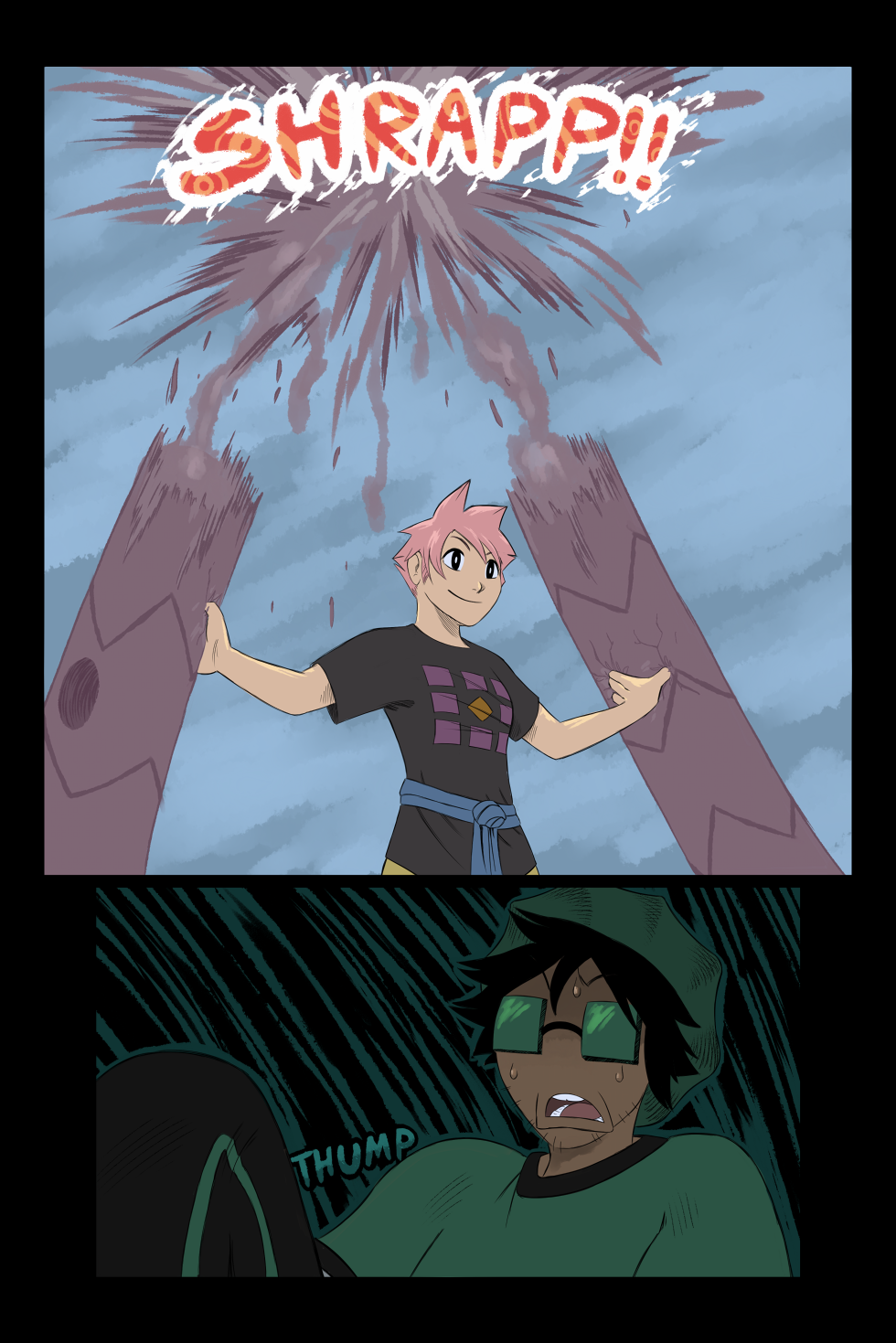Chaos in the Tropics - Page 50 of Chap.1, Beat 5 by Scribblehatch