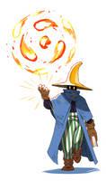 FFT - Wizard (Ma) by Scribblehatch