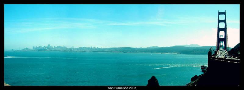 San Francisco,Golden Gate 2003 by Turha