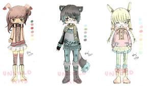 Colored Sketches adopt (CLOSE) by kawaiihoshi-san