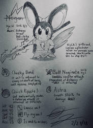Megan the Emolga by EeveeTMI
