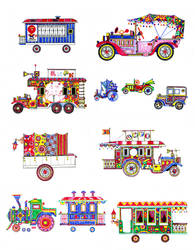 'The circus on wheels' by alex-safonov