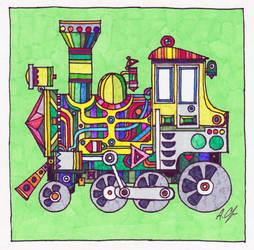 Locomotive by alex-safonov