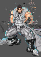 Rex Bloodhawk WIP 3 by slayerv2